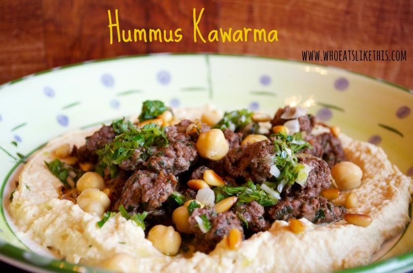 Hummus Kawarma2
