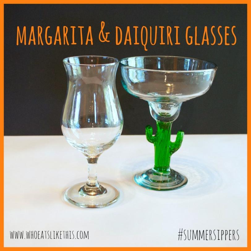 Margarita & Daiquiri glasses