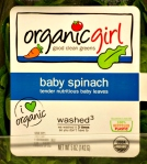 Organic Girl - baby spinach
