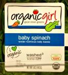 Organic Girl - baby spinach
