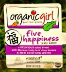 Organic Girl - Five Happiness
