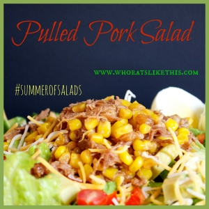 Pulled Pork Salad