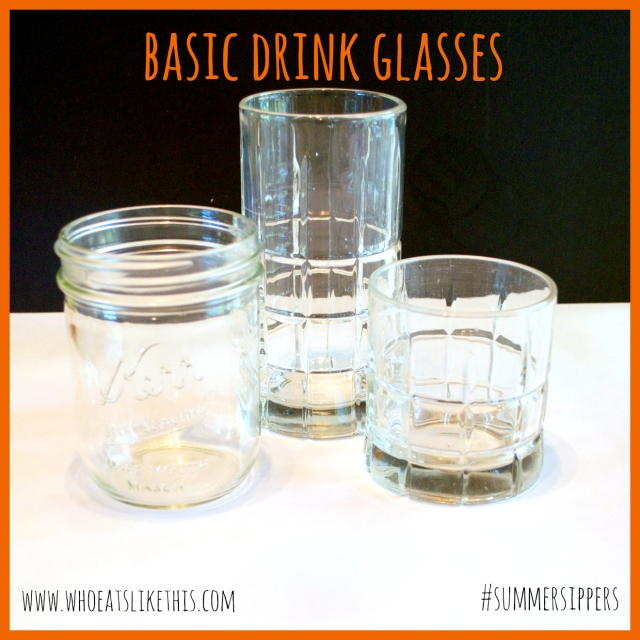 Rocks & Highball glasses