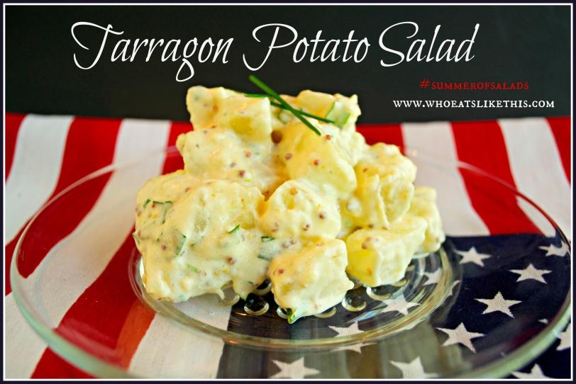 Tarragon Potato Salad, #summerofsalads