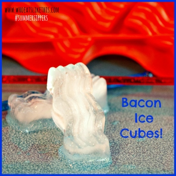 Bacon Ice Cubes