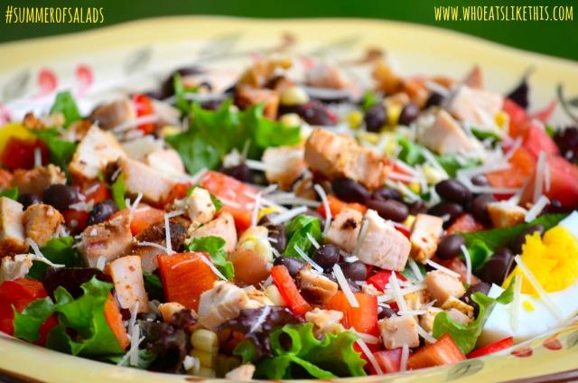 Smoked Chicken Salad up close