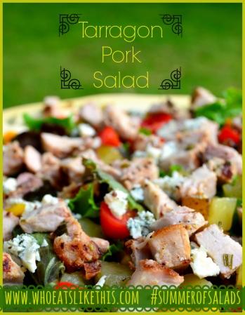 Tarragon Pork Salad