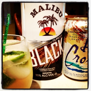 Malibu Black Mojitos
