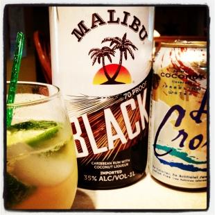Malibu Black Mojitos