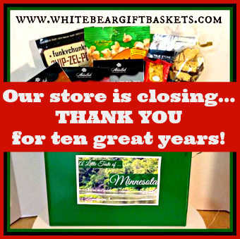 Store closing announcement!