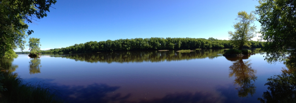 Panaroma of St. Croix River